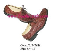 Fashion men's crocodile shoes