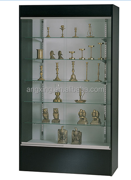 Classic Wooden Wall Mount Trophy Display Cabinet