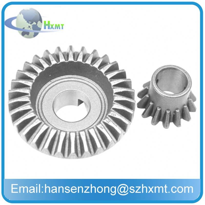 90 degree gear drive engine motorcycle wheels used toyota jeeps / differential gears Steel Spiral Bevel Gear for farm tractors