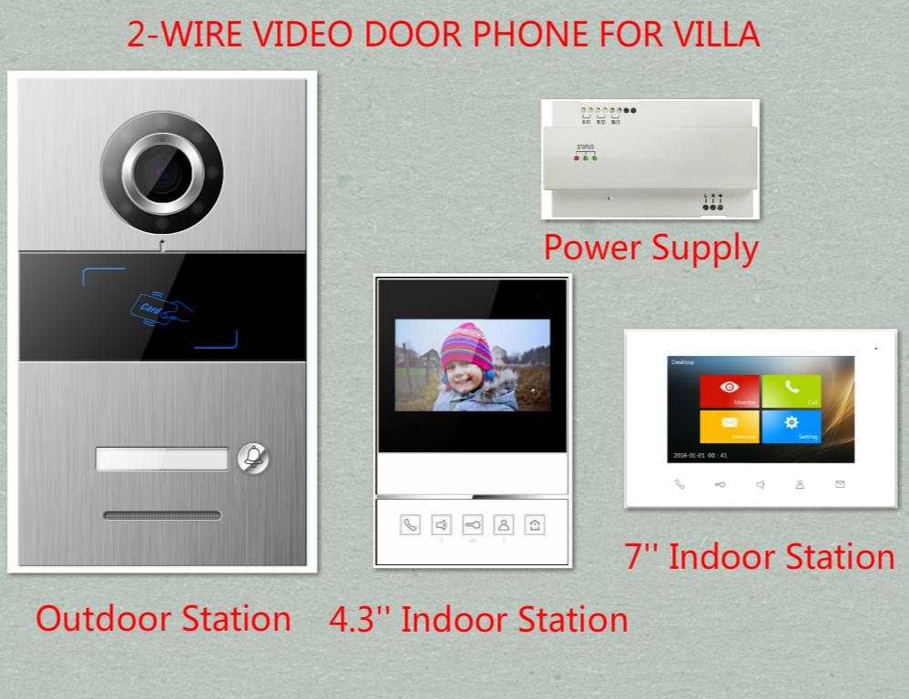 4-wired Audio Türsprechanlage Mit Hand-free Indoor Einheiten Id Karte Entsperren Xinsilu Intercom System Audio Tür Telefon Für 14 Wohnungen
