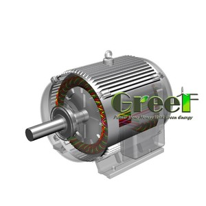 150W 30rpm low speed 3 phase permanent magnet generator for sale , synchronous direct drive alternator price