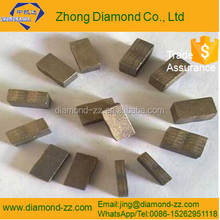 high quality guaranteed single blade segment used to cut grantie Zhong Diamond Co., Ltd