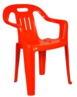 PLASTIC STACKABLE ARM CHAIR 3553