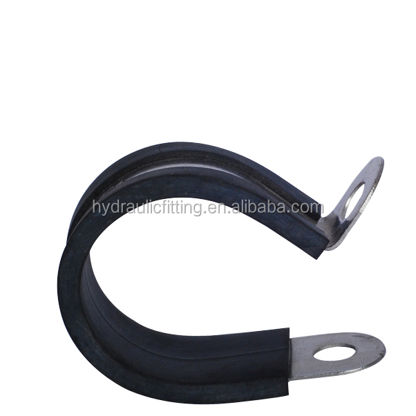Heating pipe pinch with suction cup tent rubber lined pipe clamp