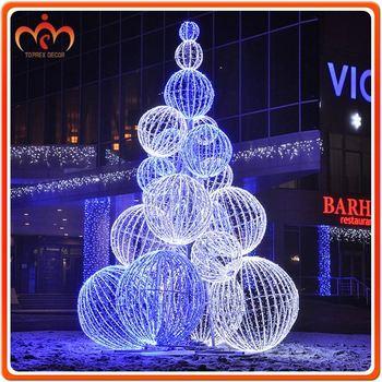 giant outdoor led christmas ball tree - Outdoor Led Christmas Tree