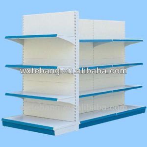 three layers standard supermarket shelving/business equipment