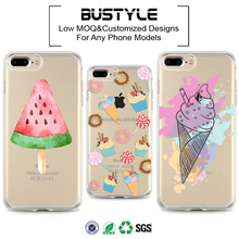 Best Selling Professional Mobile Phone Case For Iphone 6S Plus,Mobile Phone Accessories,For Iphone 7 Case Tpu Summer Ice Cream