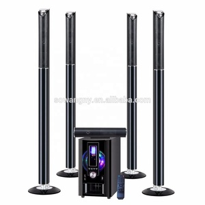 5.1 wireless speakers surround home theater/ column speaker /5.1 tower home theater speaker