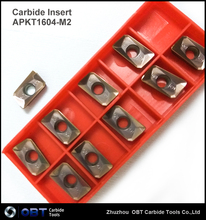 Cutting tool Tungsten carbide Indexable cnc carbide insert for turning APKT1604