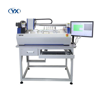 Smt330 Smt Equipment Small Desktop Pcb Assembly Machine Automatic Assembly  Line Machine,10pcs 8mm Feeder Free - Buy Pcb Assembly Machine,Smt