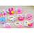 Animal Heart Cartoon plastic Girl Baby Children smart ring for promotion