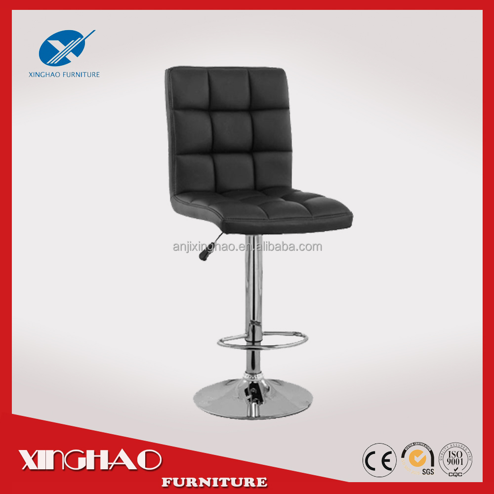 China supplier cheap Leather bar stool chair with pedal