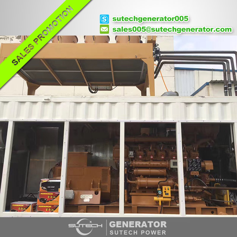 400kw natural gas generator set price with jichai engine