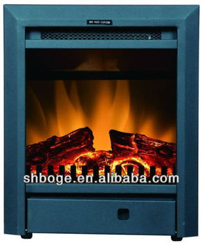 Small Portable Moving Electric Mdf Led Fireplace Heater Buy Led