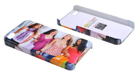 3D sublimation hard plastic phone case customized printable phone cover for iphone 4/4s
