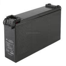 Front Terminal Deep Cycle Maintenance Free Lead Acid / AGM / GEL 12V 180AH Solar Battery