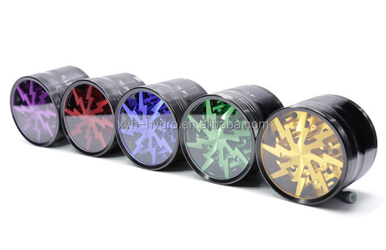 Amazon Best Selling Smoking herb grinder with pollen catcher Made in china