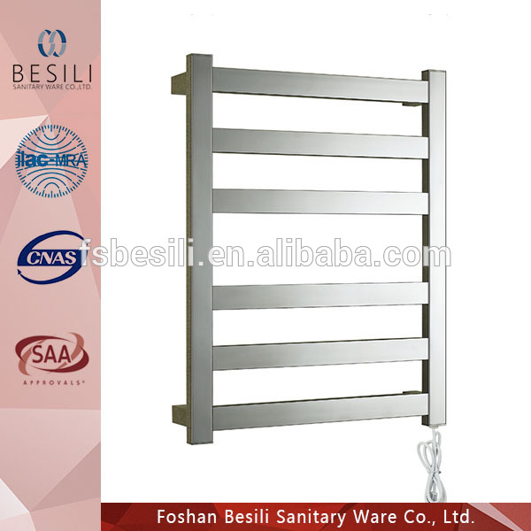 Stainless Steel electric towel warmer heated towel rail BC61