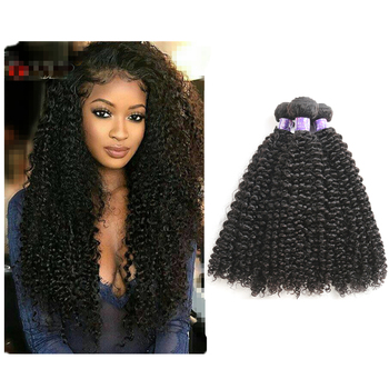Brazilian kinky curly cuticle aligned bulk curly Brazilian Hair Bundles silky curly mink Virgin brazilian Virgin Hair
