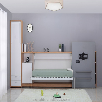 kids bedroom with tv. Folding Bed Supplier,single Wall With TV Board,kids Bedroom Hidden Kids Tv