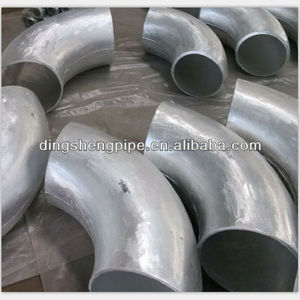 ASTM A234 alloy steel 90 degree long radius elbows in pipe fittings