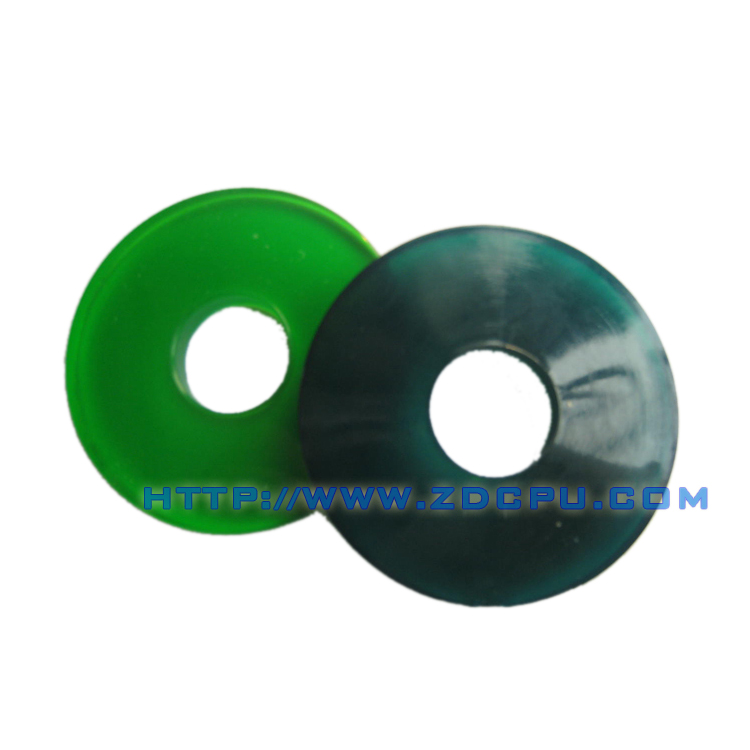Durable small tolerance flat round nylon plastic washer