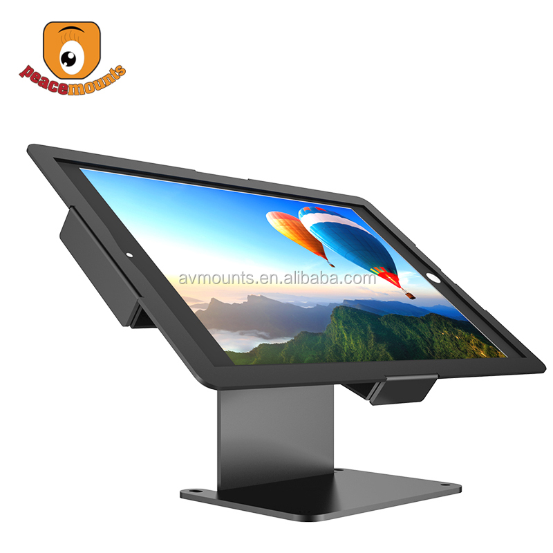 "Ultrafino escritorio ajustable de la inclinación Anti robo kiosco Tablet soporte Pantalla de 7 ""-10,1"" Tablet"