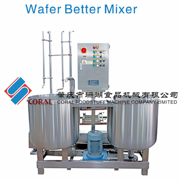 Automatic batter mixer/Chinese brand wafer production unit