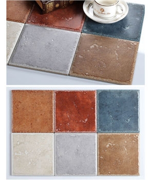 Mediterranean Rustic Anti Slip Floor Tile Kichen Wall Tile Bathroom Floor  Tile Part 89