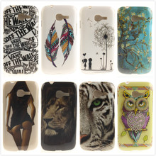 Sexy Girl Owl Tiger Lion Soft TPU Back Cover for Samsung Galaxy Star Pro S7260 S7262 Plus GT-S7262 7260 Silicone Protective Case