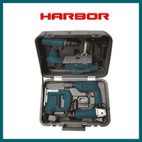 quick change drill bit set(HB-TZ020),BMC box packing impact drill and angle grinder set