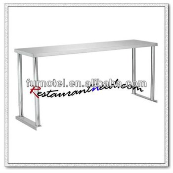 S016 Assemble 1 Layer Stainless Steel Overshelf
