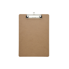 Eco-Friendly Low Profile  Letter Size Masonite Wood Clipboard Quality Guaranteed Soft Mdf  Clip Board