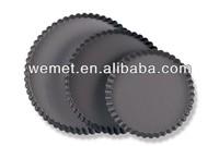 Aluminum Alloy Tart Tins / Decorative Pie Pans