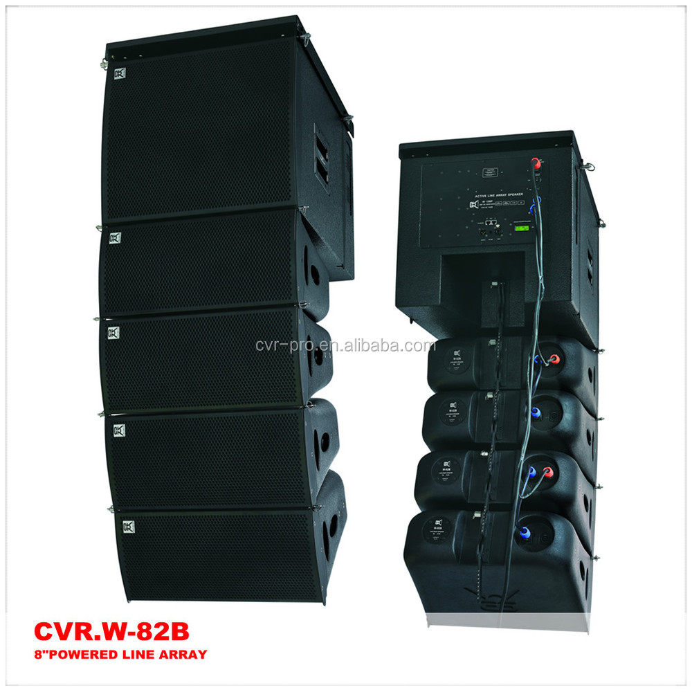 Two Way Line Arrays + Active Mini Array Speaker + Powerful Line ...