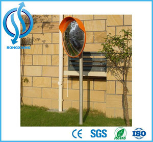 Safety wide angle road security outdoor small convex mirrors