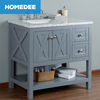 HOMEDEE free Floor standing hotel cheap single bathroom vanity in China