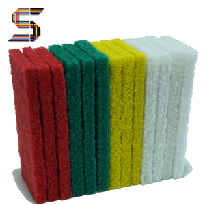 Factory Abrasive Scrub Kitchen Cleaning Nylon Scouring Pad