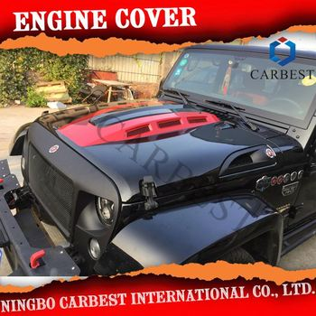 Hot Selling Motorkap Hood Cover Jeep Wrangler 2007 +