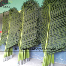 Outdoor artificial coconut tree leave / palm tree leave , decorative palm leave