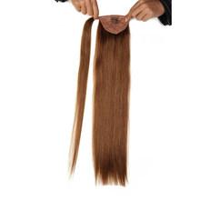 Волосы в виде хвоста Али красоты, толстые, прямые, волосы Remy, 100 г, 120 г(Китай)