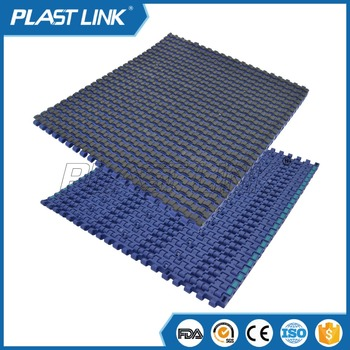 Plast Link 2120 Automic rubberized slat chain belt