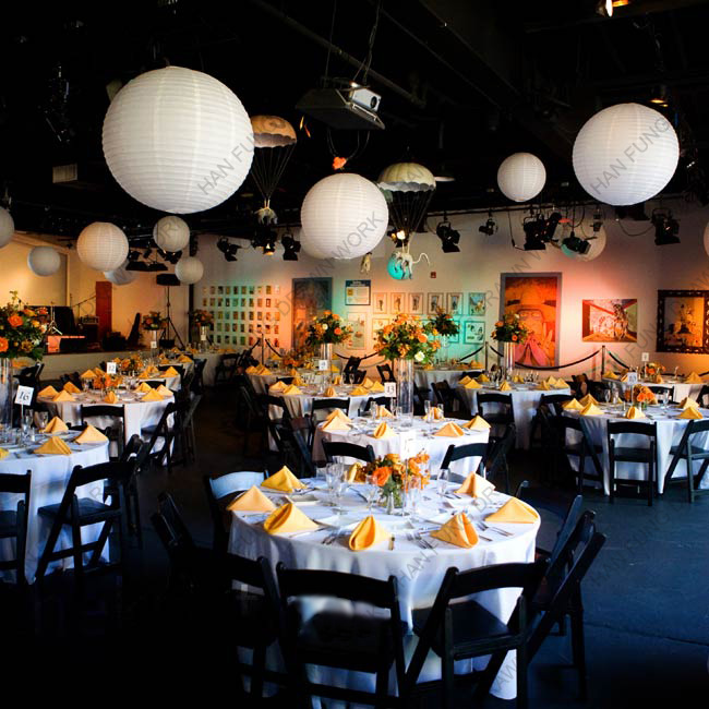 2014 the best fashion white paper lanterns for weddings
