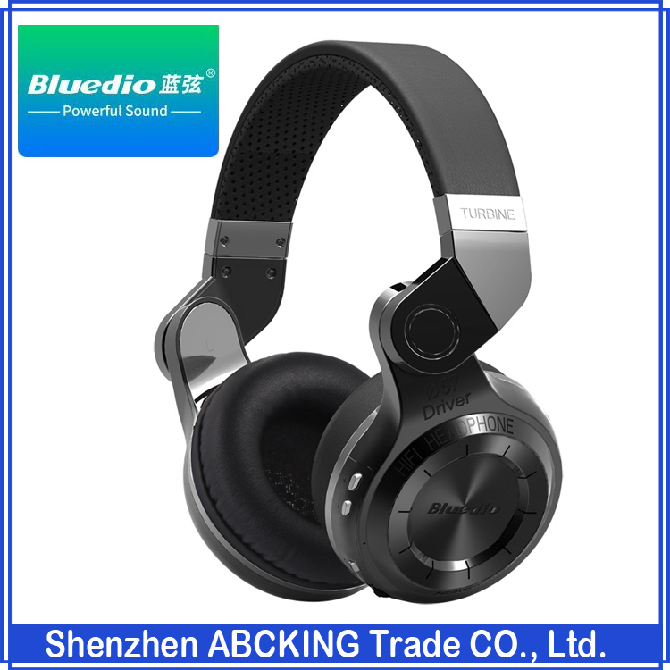 Original Bluedio T2 Bluetooth Stereo Headphones Wireless Bluetooth 4.1 headset Hurrican Series Over The Ear Headphone