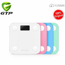 100% Original Yunmai Mini Smart Weight Scale Digital Scale Body Fat Scale Health Scale Support Android4.3/ IOS7.0 Bluetooth 4.0