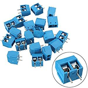 BephaMart 20PCS KF301-2P 5.08mm 2 Pin Connect Terminal Screw Terminal Connector Shipped and Sold by BephaMart