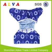 Alva Reusable and Washable windel boy bilder Diaper Cover