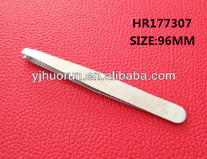stainless steel big size tweezer