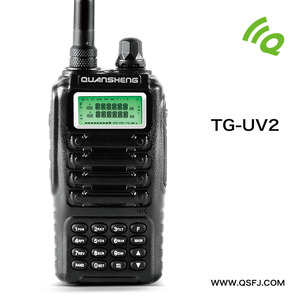 CE FCC approved walkie talkie two way radio - QuanSheng TG-UV2