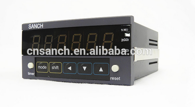 intelligent instrument 6 digital counter meter CU/CA series with application of measuring fabric paper length